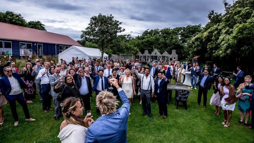 Trouwen op Texel - Proost allen