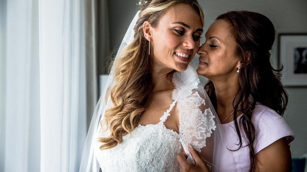 Huwelijk Michelle en Koen op Texel