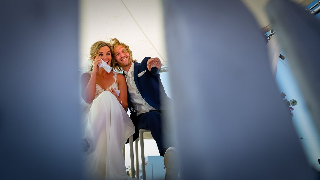 Bruidsfotograaf Amsterdam trouwceremonie