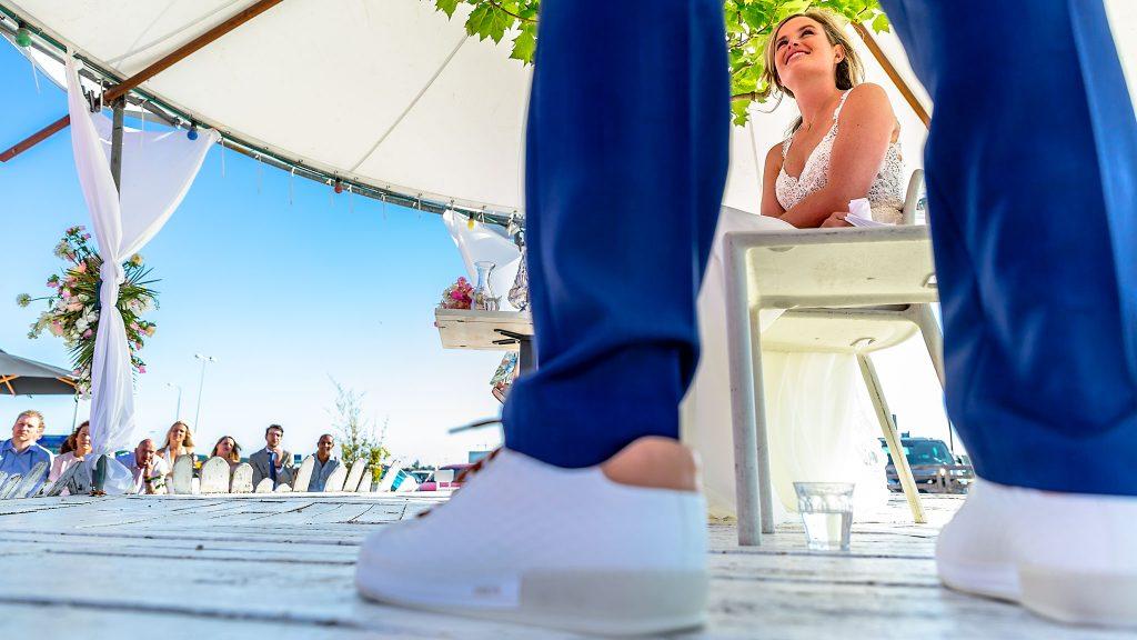 Amsterdam Trouwfotograaf ceremonie