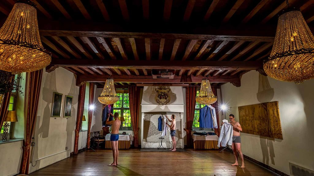 Kasteel Wijenburg aankleding