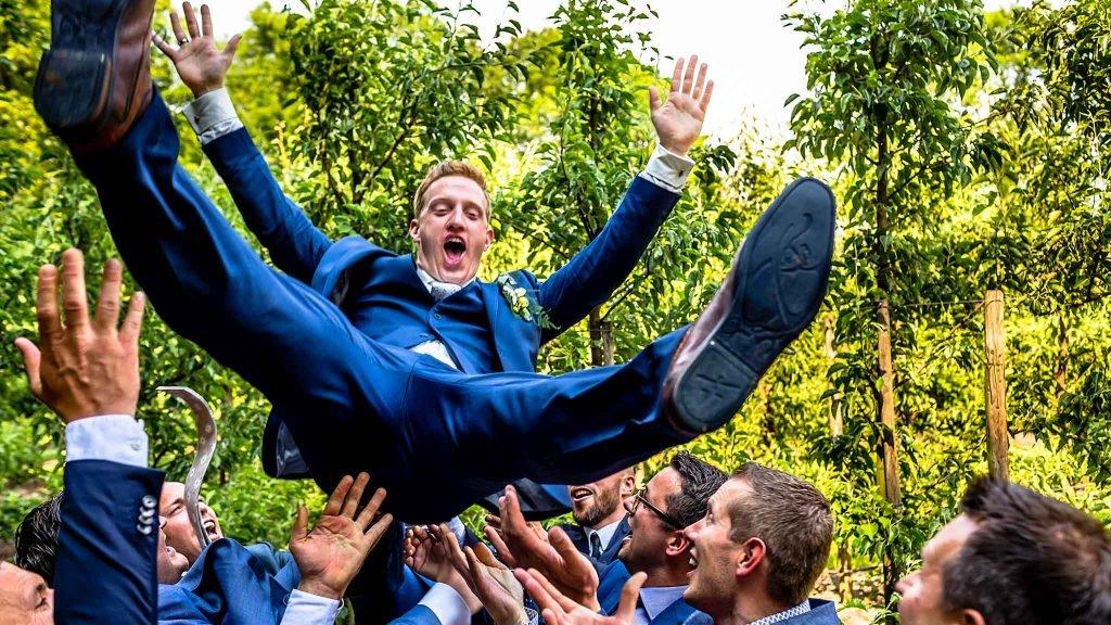 Kasteel Wijenburg gezellige bruiloft
