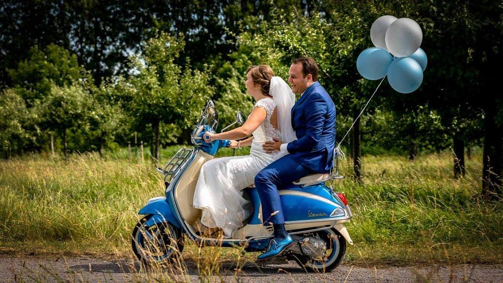 Huwelijk in Montfoort Jennifer en Martijn
