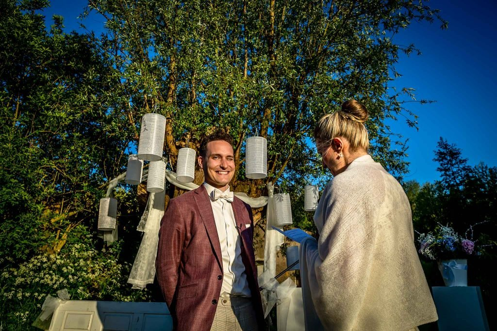 Geloften bruidegom