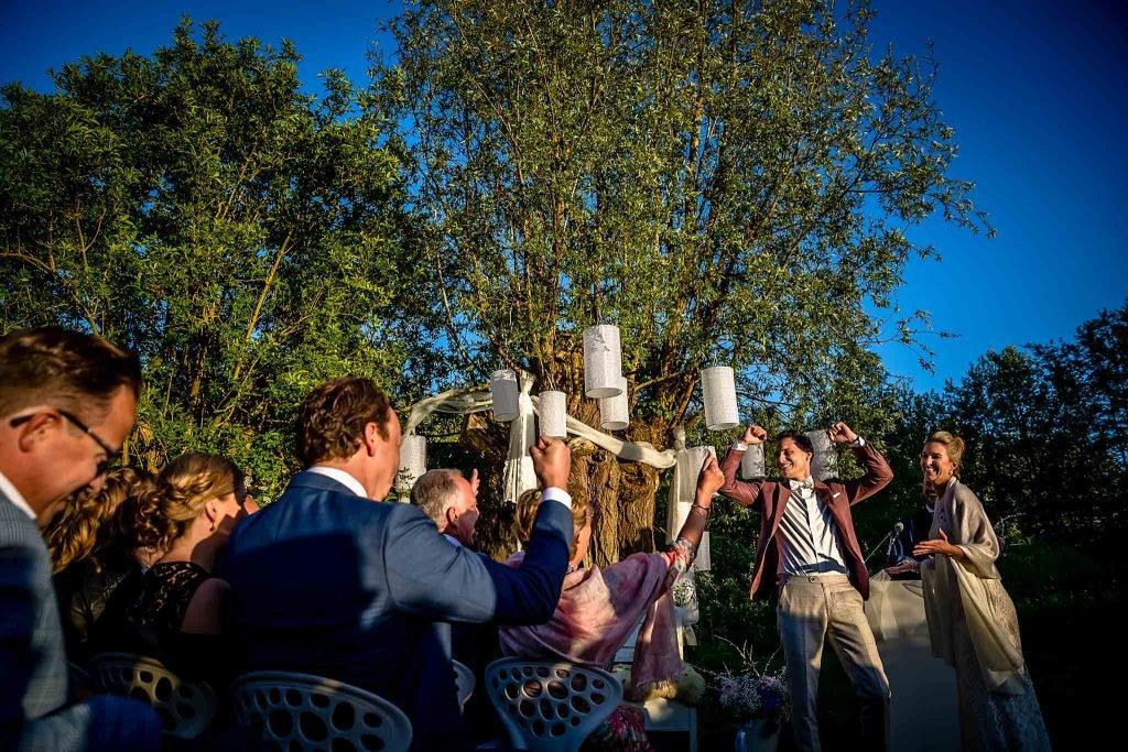 Trouwfotograaf Amsterdam bruidegom