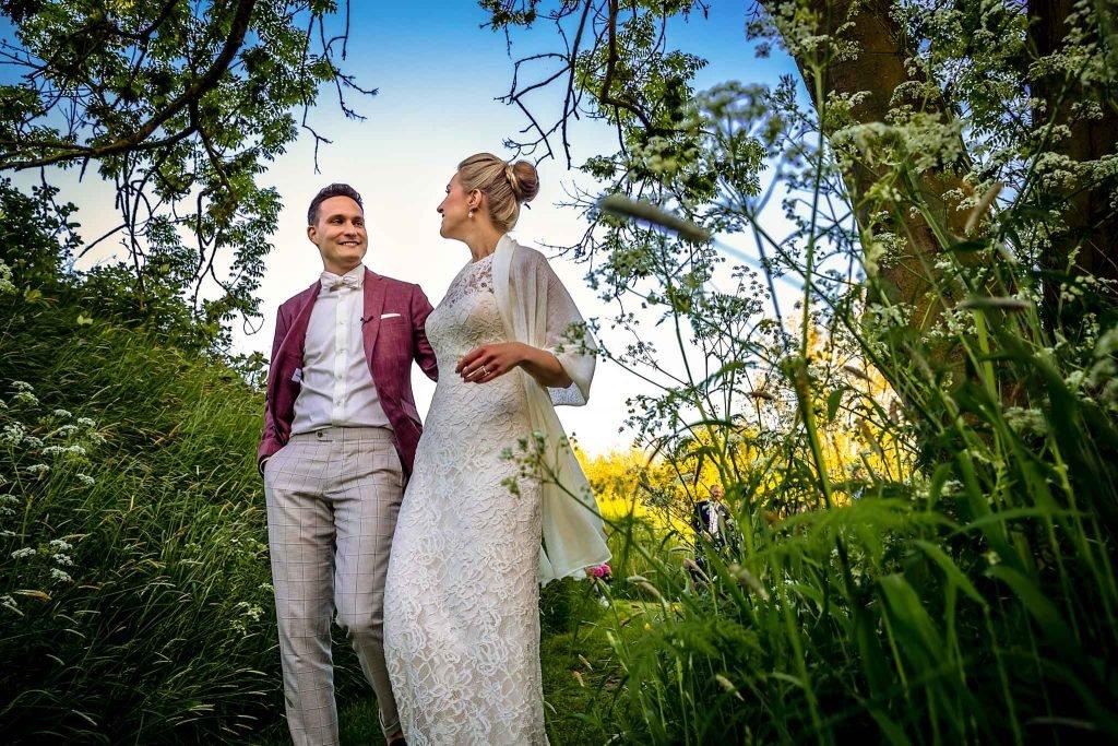 Bruidspaar trouwfotograaf