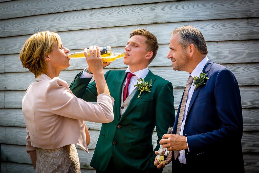Drinken op je bruiloft