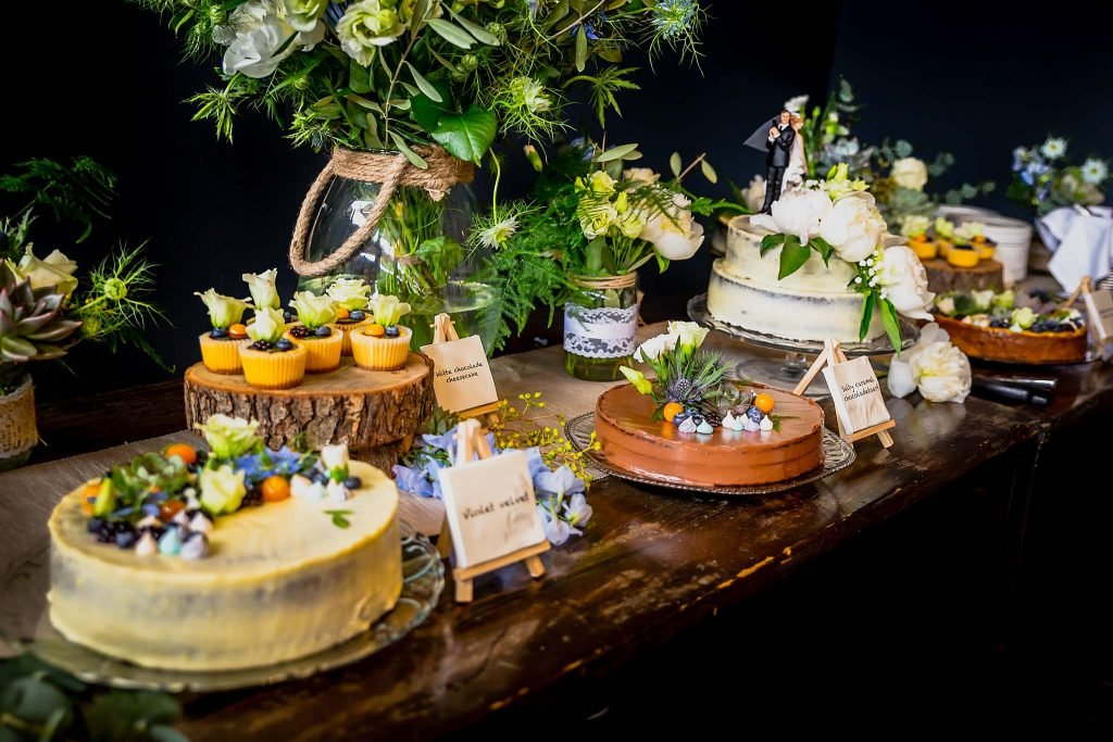 taarten en sweet table
