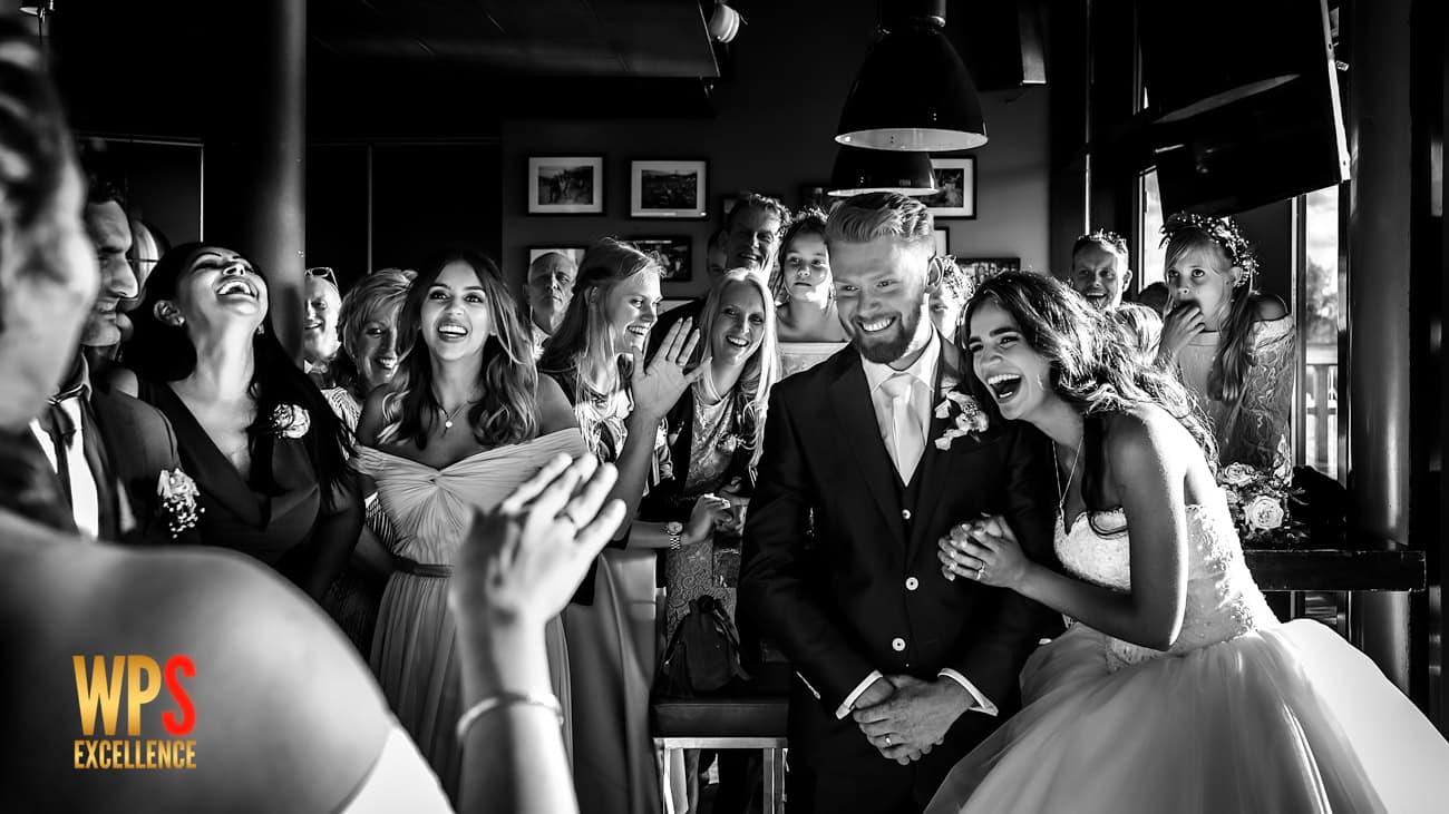 Awardwinnende foto-Villa Westend Velserbroek-trouwen aan het water